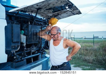 Trying To Fix A Truck