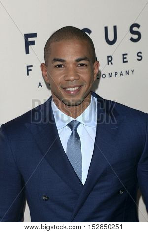 LOS ANGELES - OCT 20:  Alano Miller at the