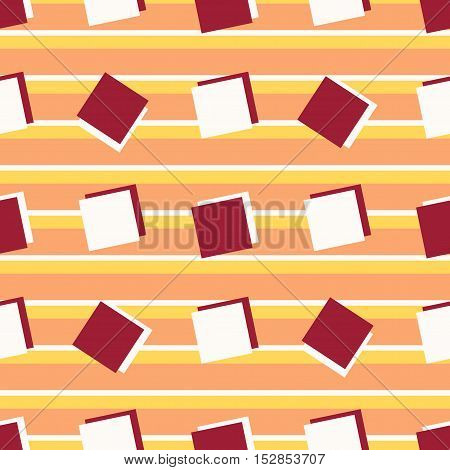 Seamless abstract color style pattern. Vector illustration