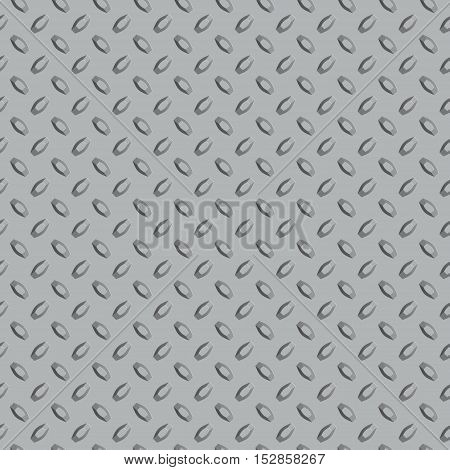 Metal diamond plate seamless 3D texture for design