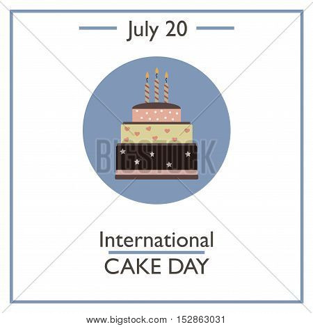 International Cake Day, July 20