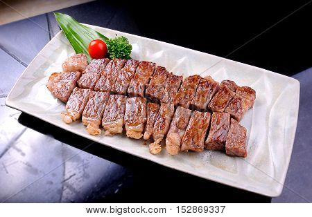 Grilled Kobe Miyazaki Beef