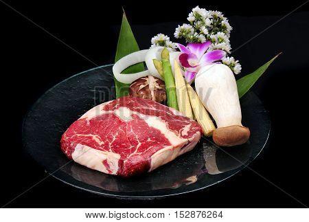 Japanese Red Beef For Teppanyaki