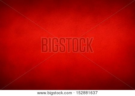 Red textured surface - Christmas material background