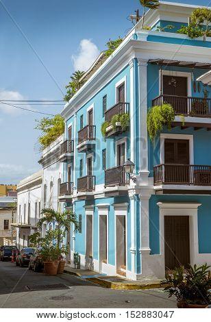Old San Juan in Puerto Rico - architecture