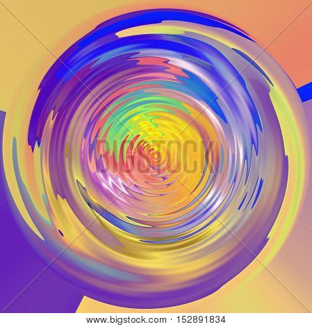 Abstract coloring background of the pastels gradient with visual lighting,wave,shear,poolar coordinates and zigzag effects
