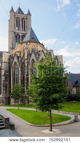 St. Nicholas Church, Ghent, Belgium.