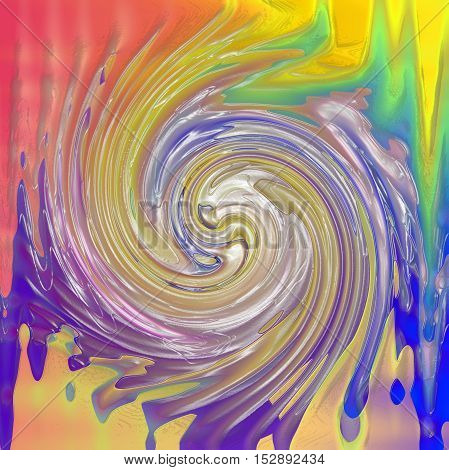 Abstract coloring background of the pastels gradient with visual lighting,wave,plastic wrap and twirl effects