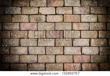abstract dirty brown brick block texture for background - can use to display or montage on product