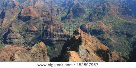 Waimea Canyon, the