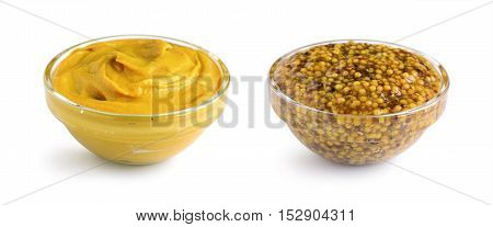 Mustard Sauce And Wholegrain Mustard