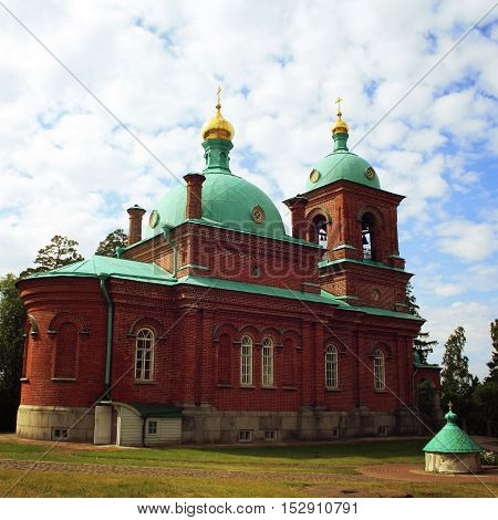 The Resurrection Skete. Valaam Island, Russia.