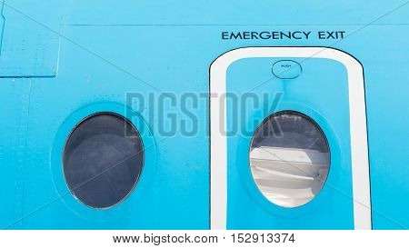 Eemergency Exit Door, Airplane