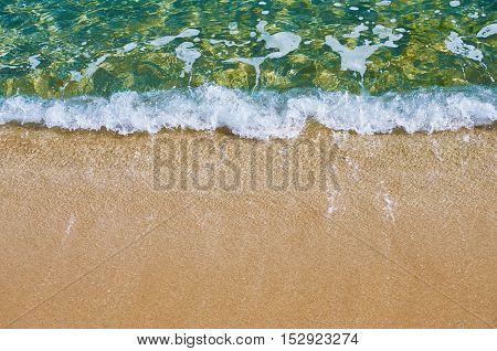 Image of Sea Surf On The Beach