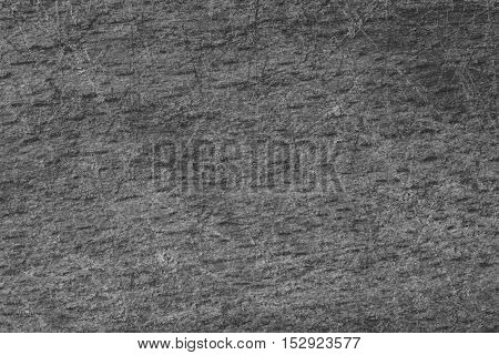 Black and white background with pattern from scrape. Scratched surface.