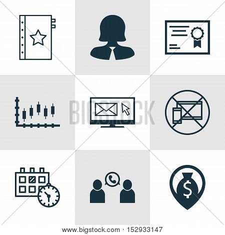Set Of 9 Universal Editable Icons For School, Transportation And Hr Topics. Includes Icons Such As B
