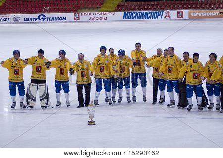 Dynamo-Moscow. Bundy team