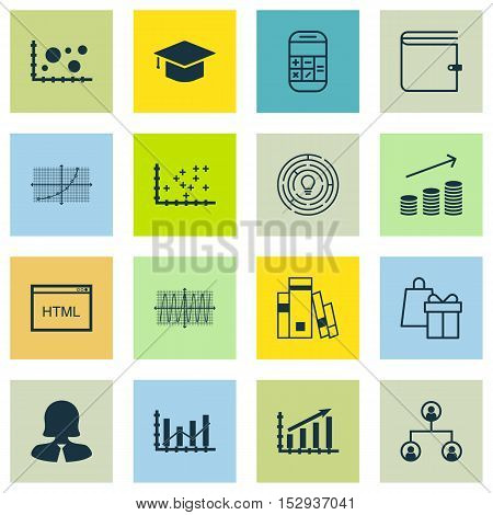 Set Of 16 Universal Editable Icons For Hr, Project Management And Human Resources Topics. Includes I