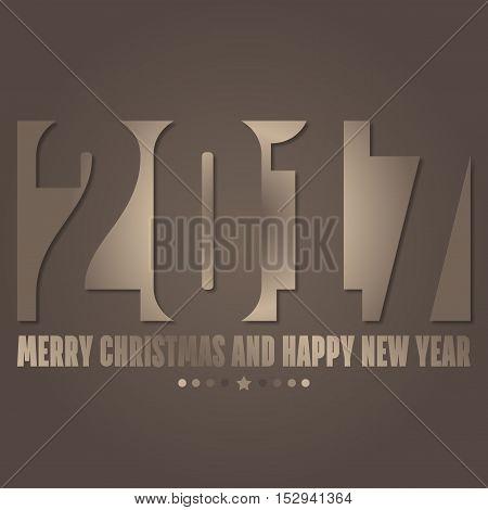 Sfondo per l'arrivo del nuovo anno - 2017