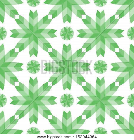 Geometric pattern flowers style vector mosaic textures wallpapers