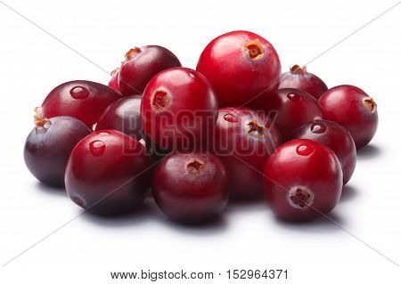 Pile Of Wild Cranberries, Clipping Paths