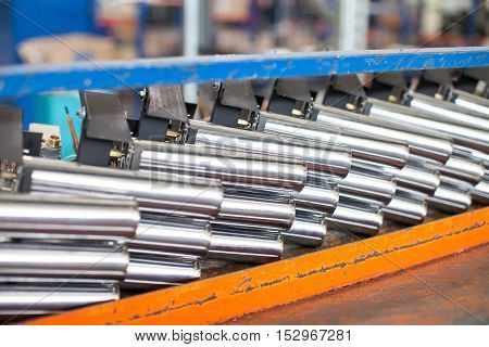 Heavy metallugriya. Easy metallurgy. Work with metal. Production of spare parts. Operation of machines at plant.