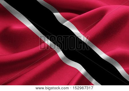 Image of the nasional flag of Trinidad and Tobago