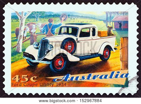 AUSTRALIA - CIRCA 1997: A stamp printed in Australia from the