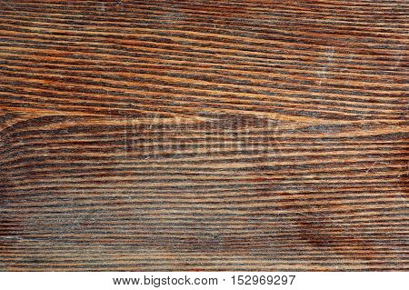 Brown textured aged wooden background in rustic stile