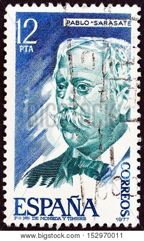 SPAIN - CIRCA 1977: A stamp printed in Spain from the