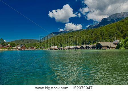Konigsee Lake of Bavaria Germany Boat Tour Cruise