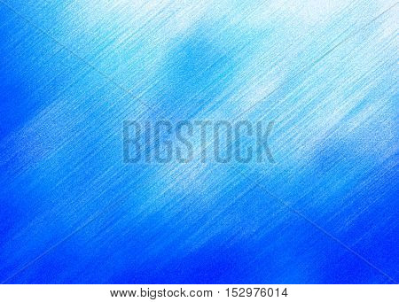 blue paint brushed pattern background