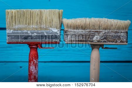 Two Large Brush To Paint