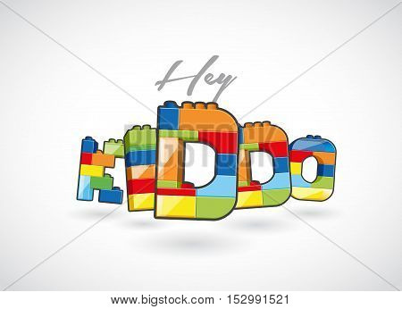 Hey Kiddo call out created of brick based elements.