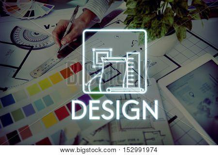 Design Creative Ideas Model Sketch Draft Concept