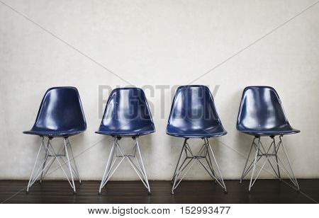 Chair Furniture Indoor Space Urban Vacant Concept