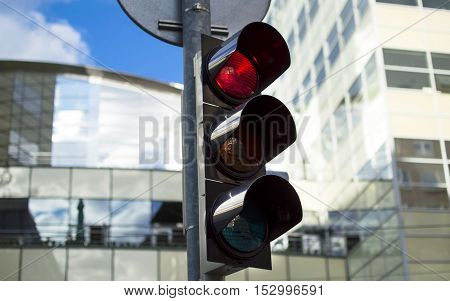 Traffic Light Activated Red Light
