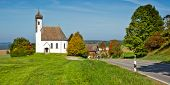 Постер, плакат: Изображение красивой церкви в Германии Бавария