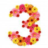 pic of arabic numerals  - 3 - JPG