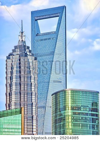 The Highest Skyscrapers Of Shanghai