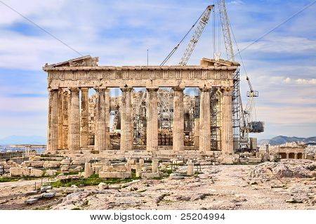 Reconstruction Of The Acropolis