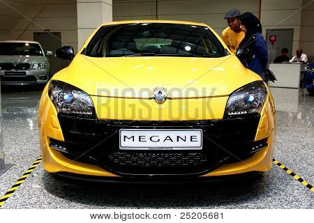 Renault Megane RS Front View