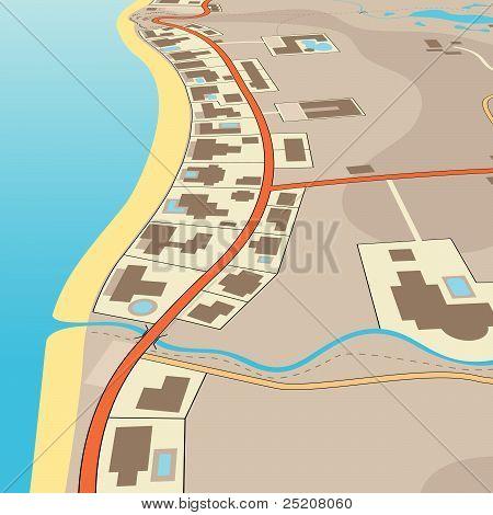 Angled Beachfront