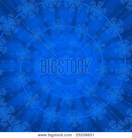 Background abstract, snowflakes