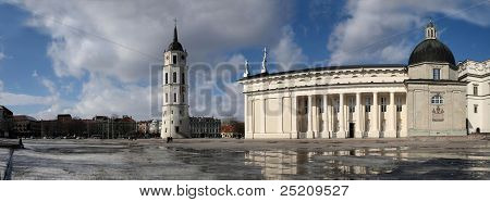 Vilnius Cathedral Place
