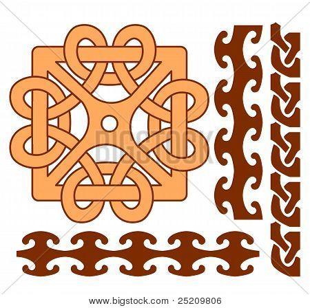 Elements Of Celtic Ornaments