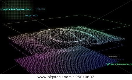 Audio Graph Screen