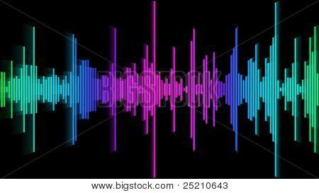 Audio Spectrum Glow