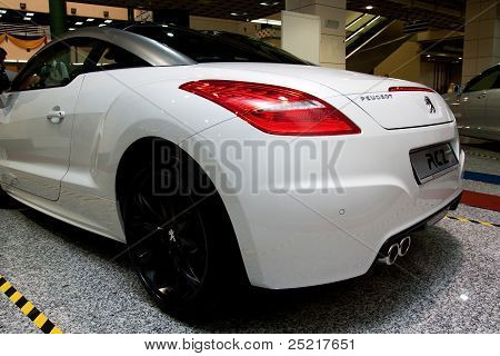 Peugeot RCZ Gorgeous Looking Rear View