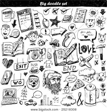 Big doodle set
